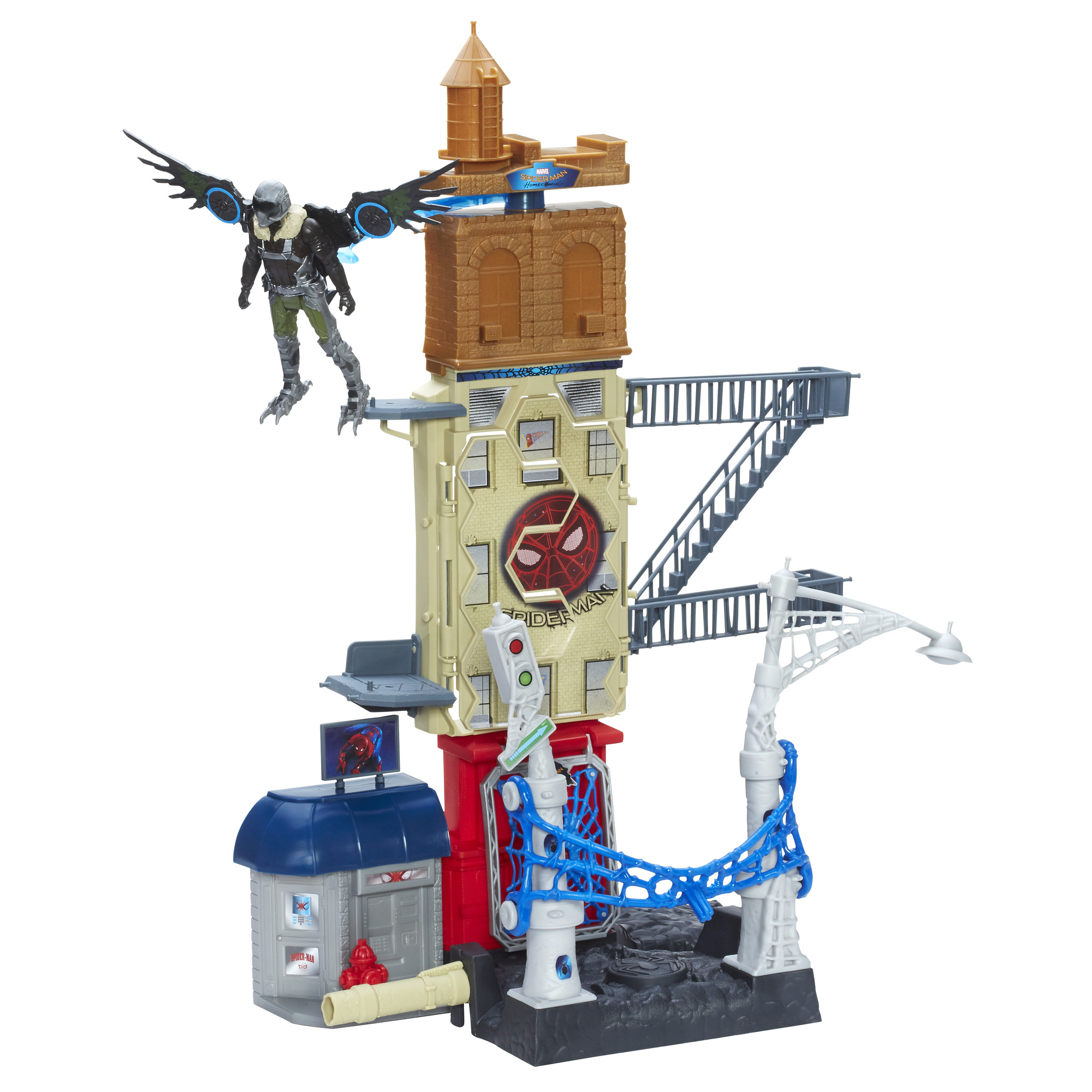 Spider-Man: Homecoming Marvel�s Vulture Attack Set by Hasbro