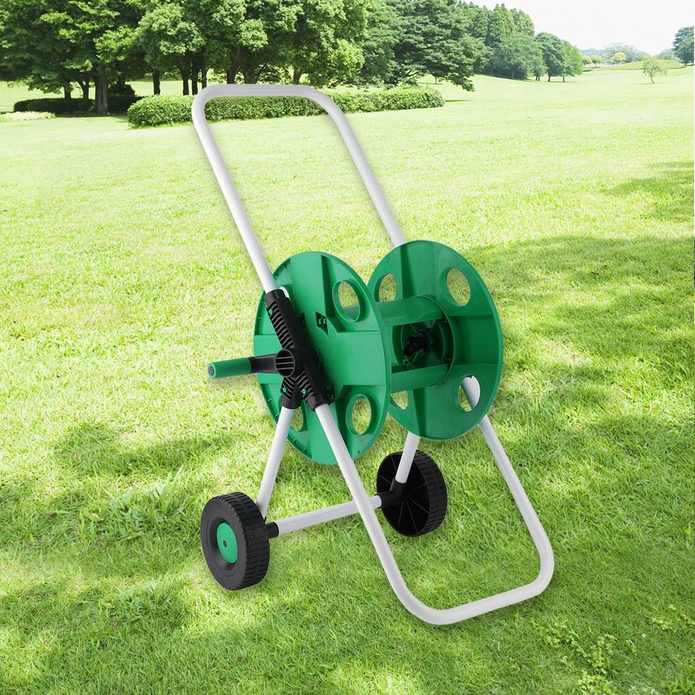 Garden Water Pipe Holder Garden Hose Reels Cart Hose Pipe Holder Trolley by