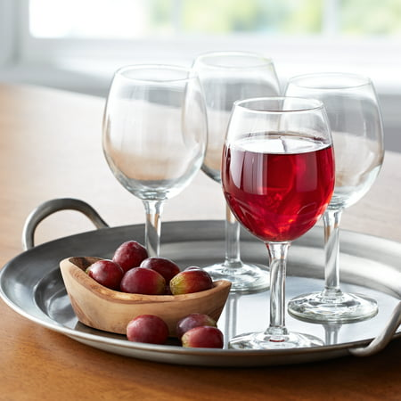 Mainstays All-Purpose 11-Ounce Wine Glasses, Set of 12 (Wine Glasses For Women)