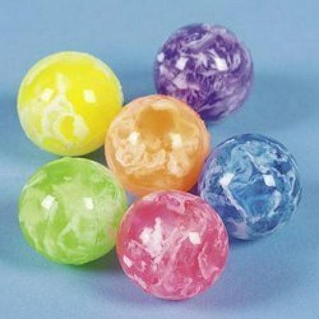 Neon Swirled Bouncing Balls (4 dozen) - Bulk [Toy]](Bouncing Balls Noise)