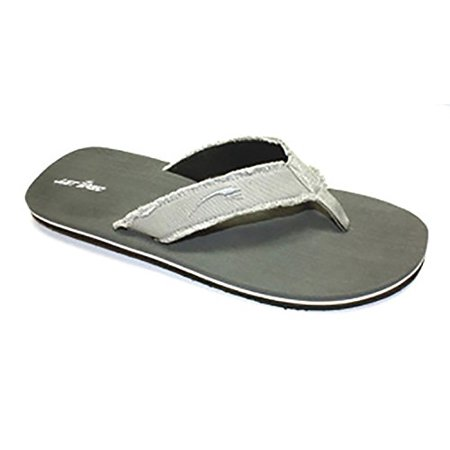 Just Speed Mens Flip Flop Sandals (14, Gray)