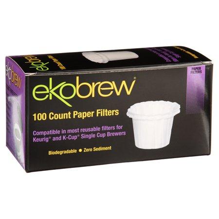Ekobrew Paper Filters, 100 ct