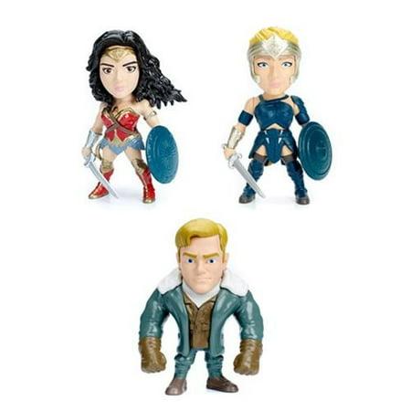 Wonder Woman Movie 4-Inch Metals Die-Cast Figure Wave 1 Case (Number of Pieces per Case: