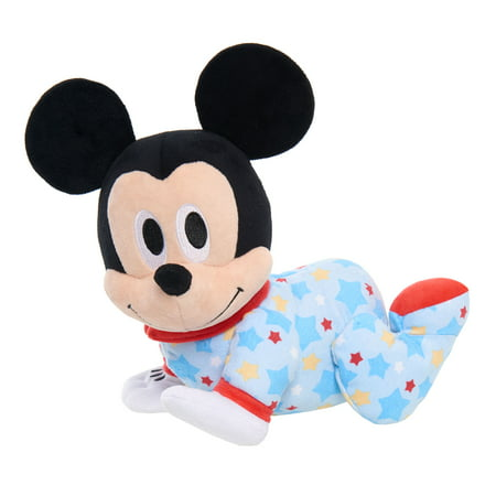 Baby Mickey Mouse (Disney Baby Musical Crawling Pals Plush - Mickey)
