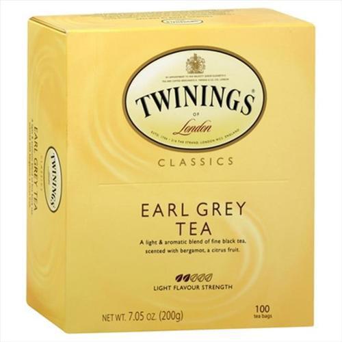Twinings Tea, Earl Grey, 100 Count, 7.05 oz