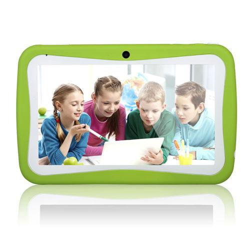 KIDS Tablet Wopad Android 4.4 Rock Chip 3126 Quad Core 8GB Multi Touch Screen- Green