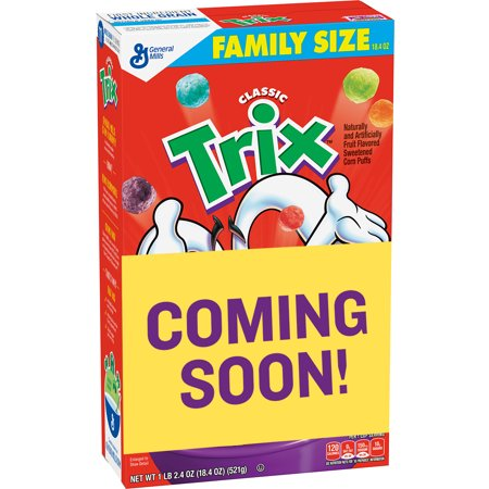Trix Cereal 18.4 oz. Box