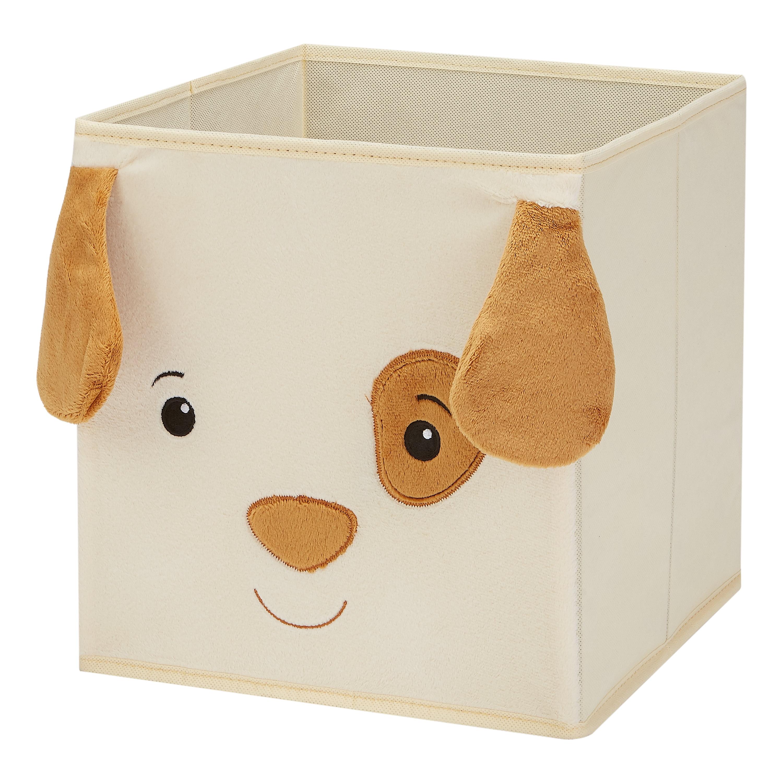 """Mainstays Kids 10.5"""" x 10.5"""" x 11"""" Collapsible Dog Storage Bin"""