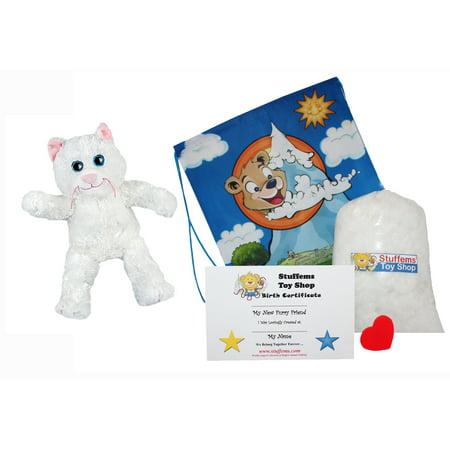 Own Kitty - Make Your Own Stuffed Animal Marshmallow the Kitty 16