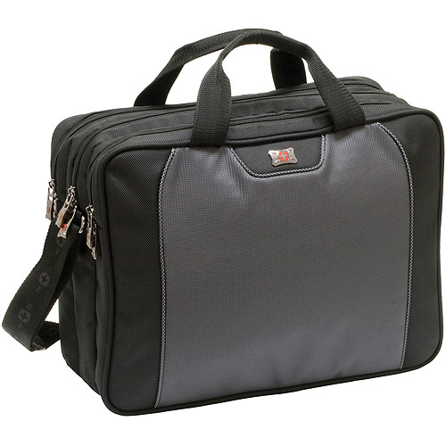 """Victorinox Wenger Carrying Case (Briefcase) for 16.4"""" Notebook - Black - Neoprene"""