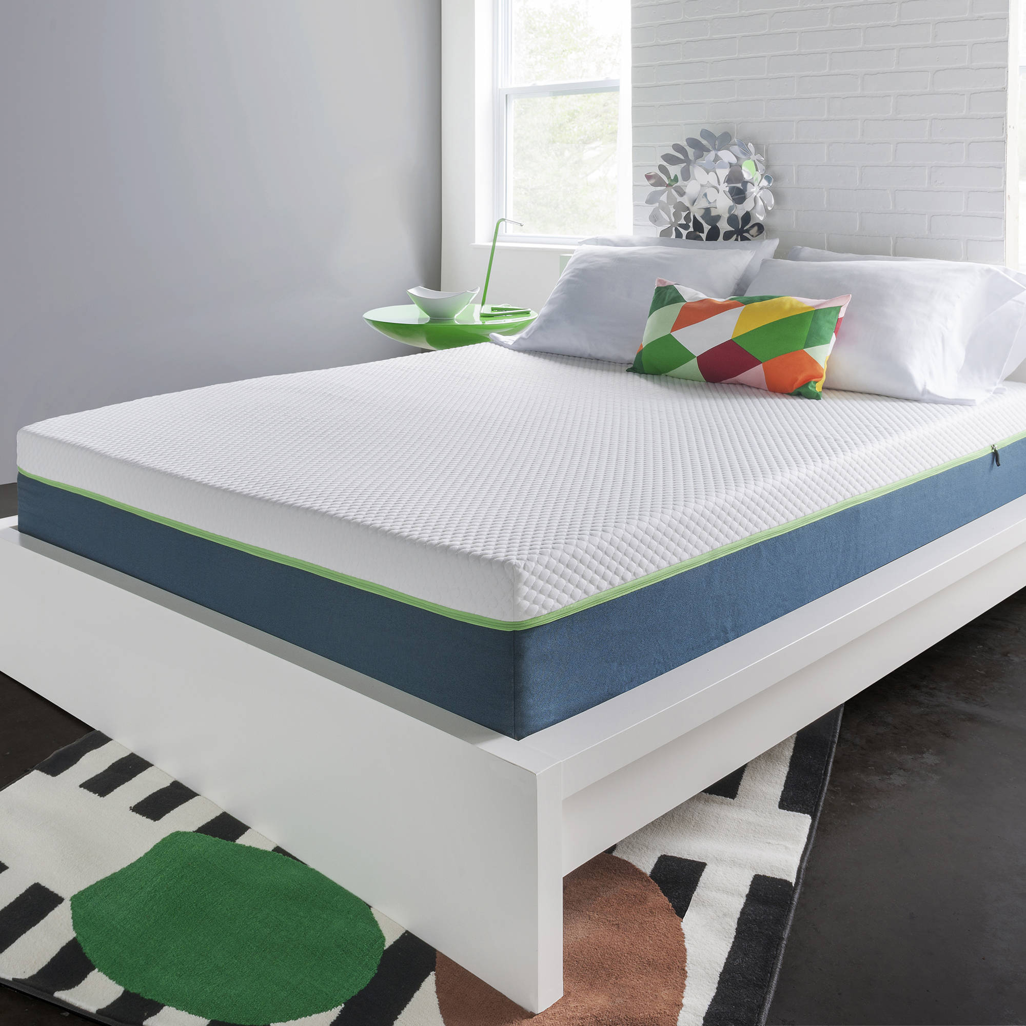 "HoMedics 10"" Air Gel Deluxe Memory Foam Mattress, Multiple Sizes"