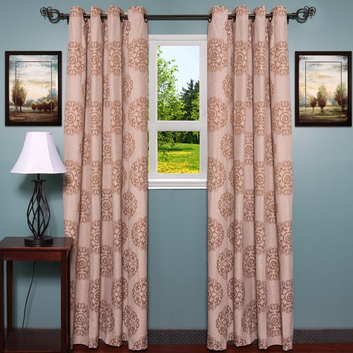 Sweet Home Collection Jody Single Curtain Panel
