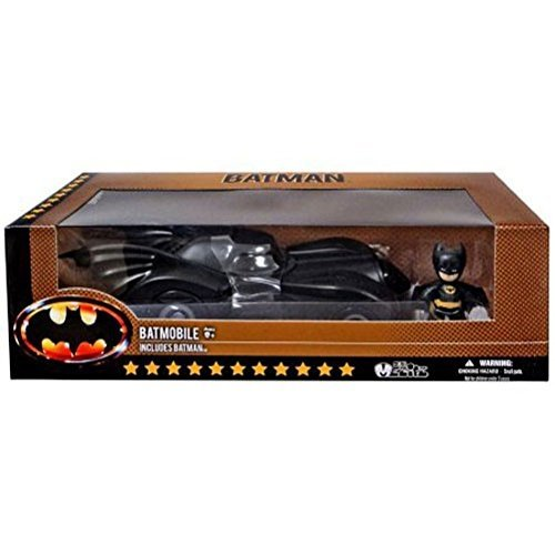 Mez-Itz 1989 Batman & Batmobile Action Figure Set