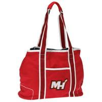 Miami Heat Women's Hampton Canvas Tote Bag - Maroon - No Size