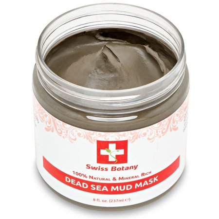 100% Natural Mineral Infused Dead Sea Mud Mask for Face & Body