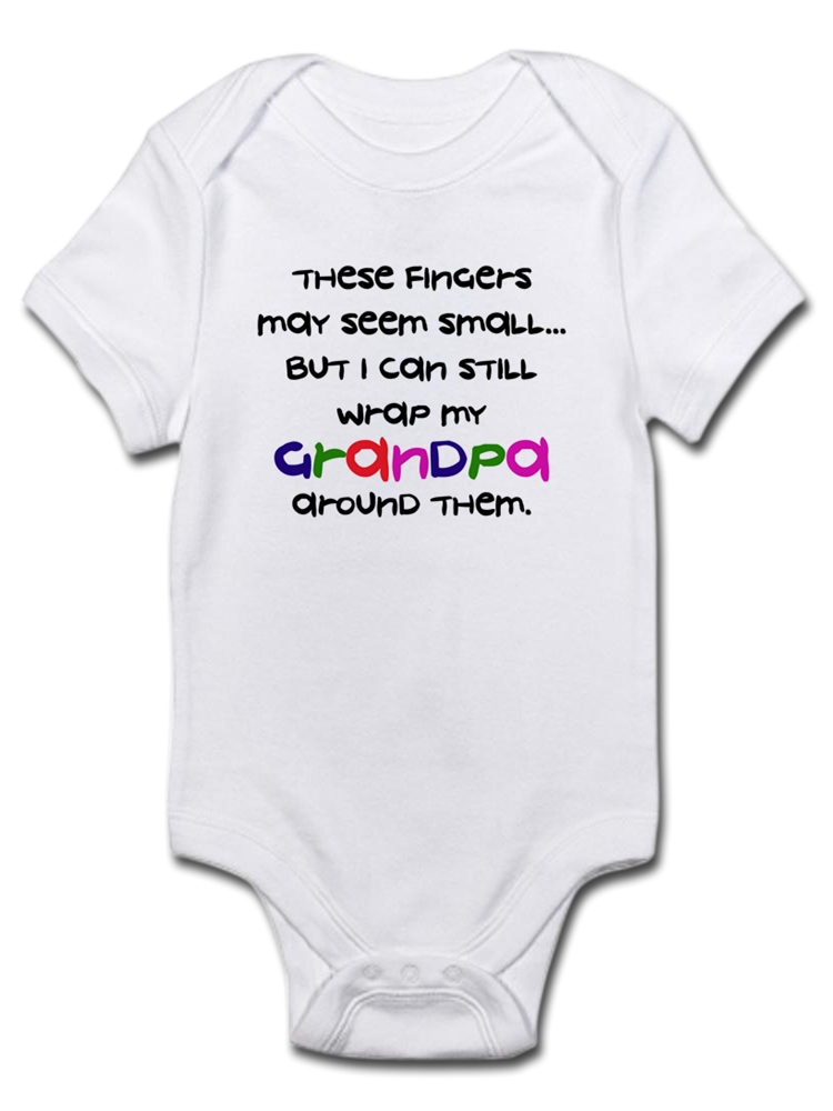 FINGERS WRAP GREAT-GRANDMA Infant Bodysuit CafePress Baby Bodysuit