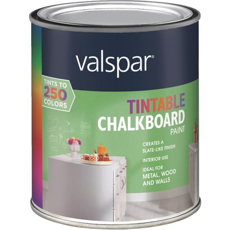 valspar tintable chalk board paint
