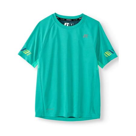 Russell Performance Short Sleeve T-Shirt (Little Boys & Big (Michael Lewis The Big Short 60 Minutes)