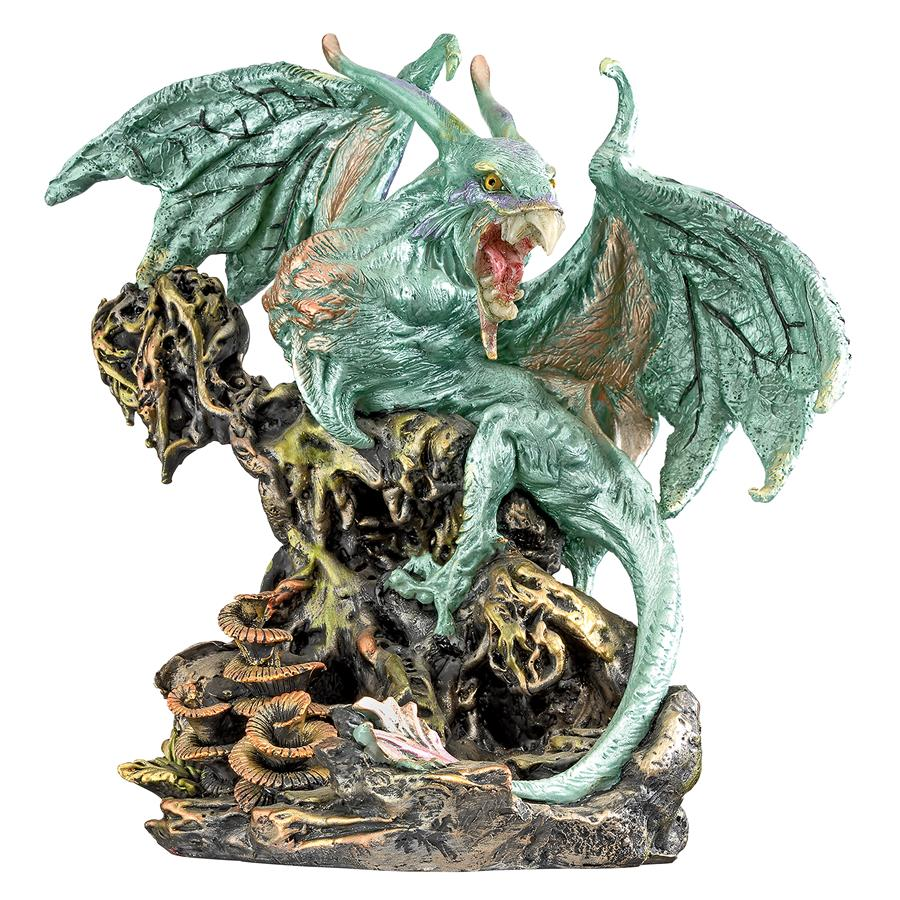 Scylla, the Dragon Demon from the Depths of the Sea Statue
