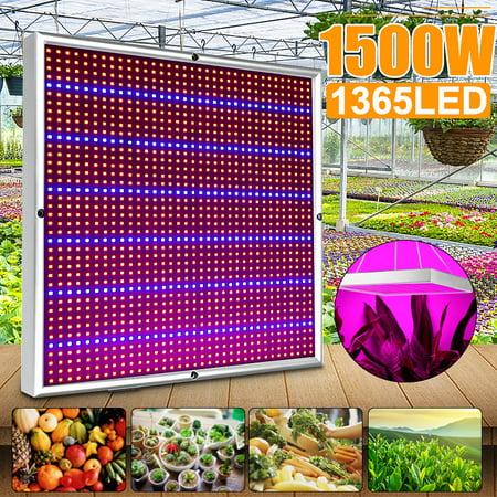 289/1365 LED 1200W/1500W Plant Grow Light Growing Lamp Lighting Panel AC 85V-265V For Veg Indoor Plant Hot Hydroponic Flower Vegetable Seedling Growth Greenhouse Medical