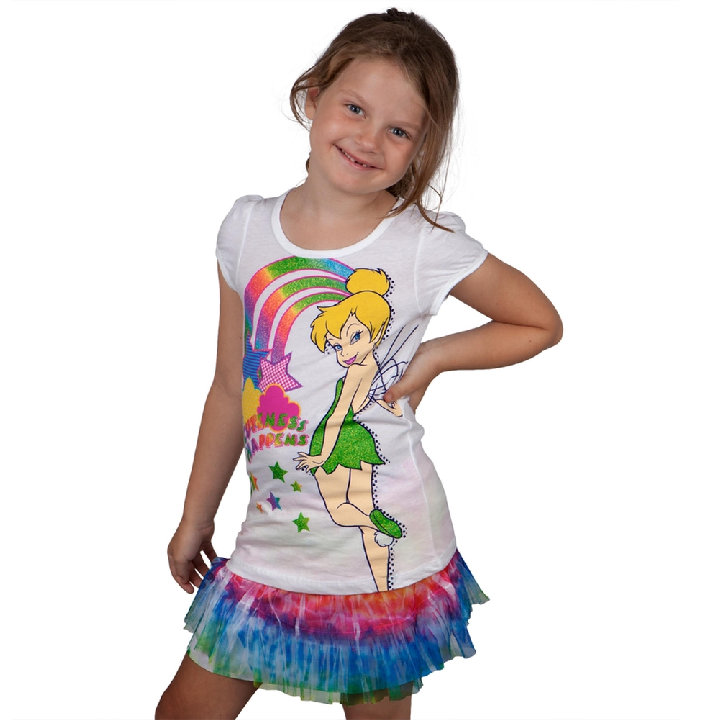 Tinkerbell - Cuteness Happens Girls Juvy Skirt Set