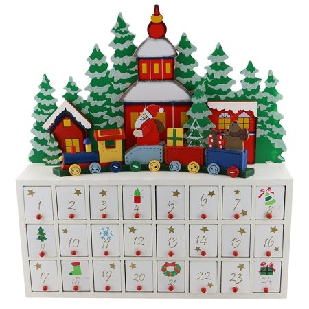 three star advent calendar wooden. Black Bedroom Furniture Sets. Home Design Ideas