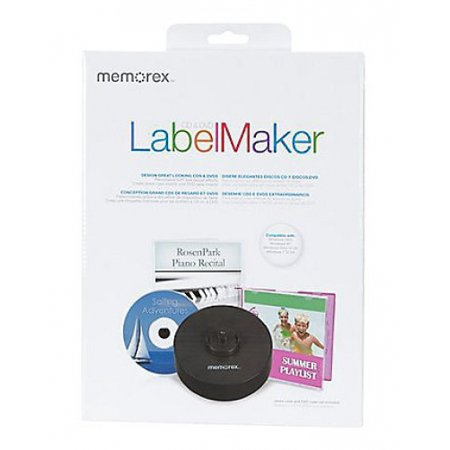 Memorex CD/DVD LabelMaker Labeler Kit
