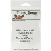 Riley & Company Funny Bones Cling Mounte