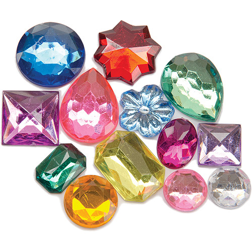 Darice The Big Bling Assorted Rhinestone Value Pack