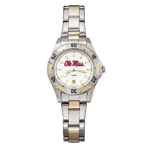 Logo Art LA-UMS154 Mississippi Womens All Pro Two Tone Watch