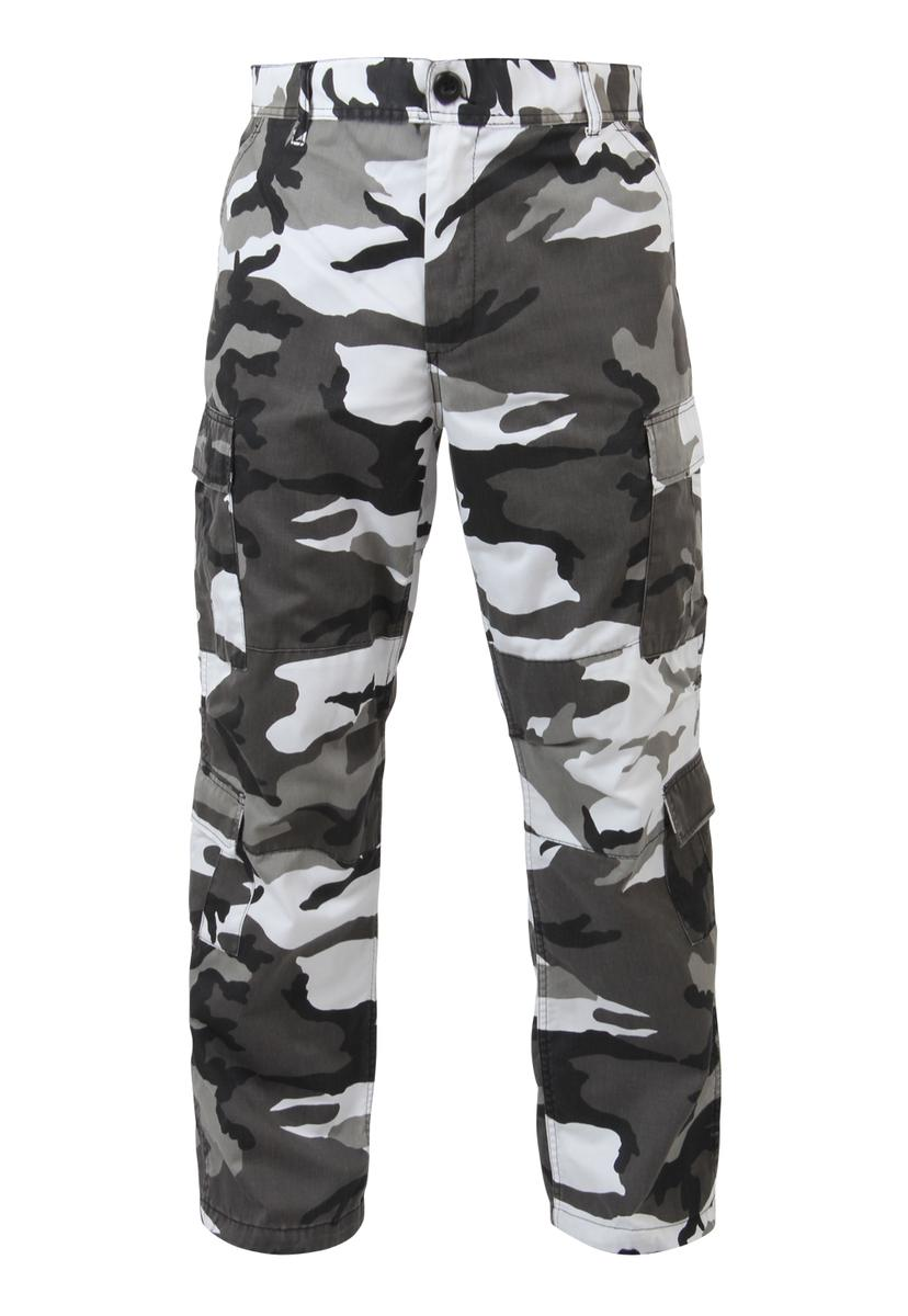 Baggy City Camo Cargo Pants, with 8 Pockets by Rothco