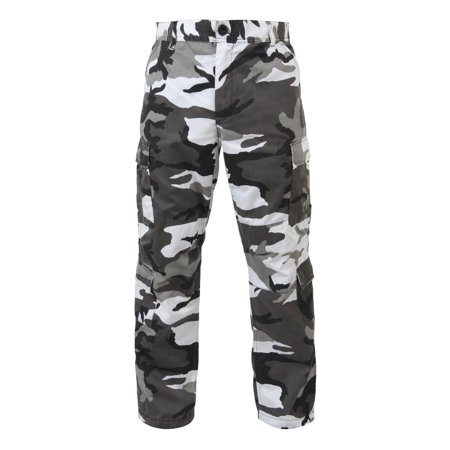 Baggy City Camo Cargo Pants, with 8 Pockets