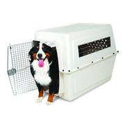 "Petmate Vari Kennel Plastic Dog Crate, Bleached Linen, X-Large, 48""L x 32""W x 35""H"