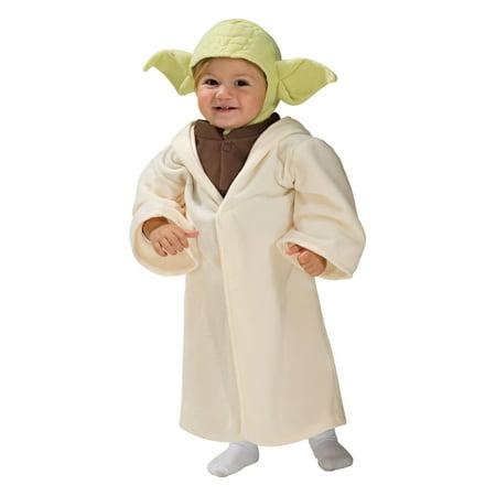 Halloween Star Wars Classic Yoda Infant/Toddler Costume](Yoda Halloween Costume Toddler Pattern)