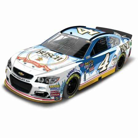Kevin Harvick Action Racing 2016 #4 Busch Beer 1:24 NASCAR Sprint Cup Series Autographed Color Chrome Die-Cast Chevrolet SS - No Size