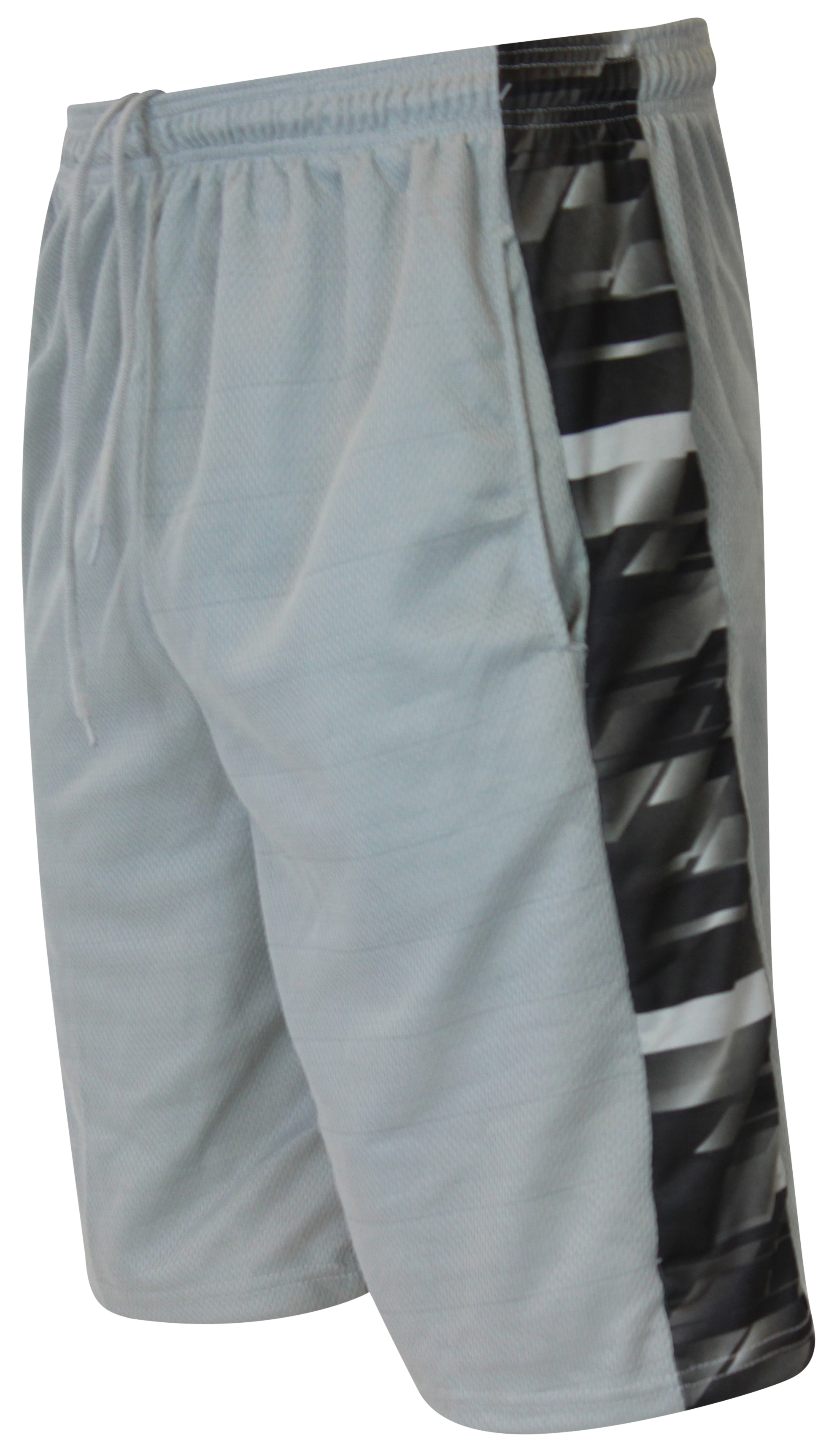 Mens Premium Active Athletic Performance Shorts with Pockets 5 Pack