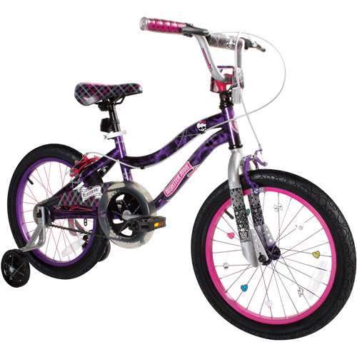 "18"" Monster High Girl's Bike by Dynacraft"