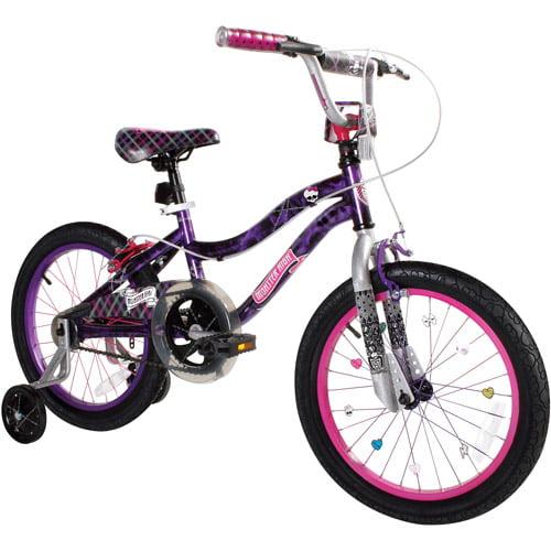 """18"""" Monster High Girl's Bike"""
