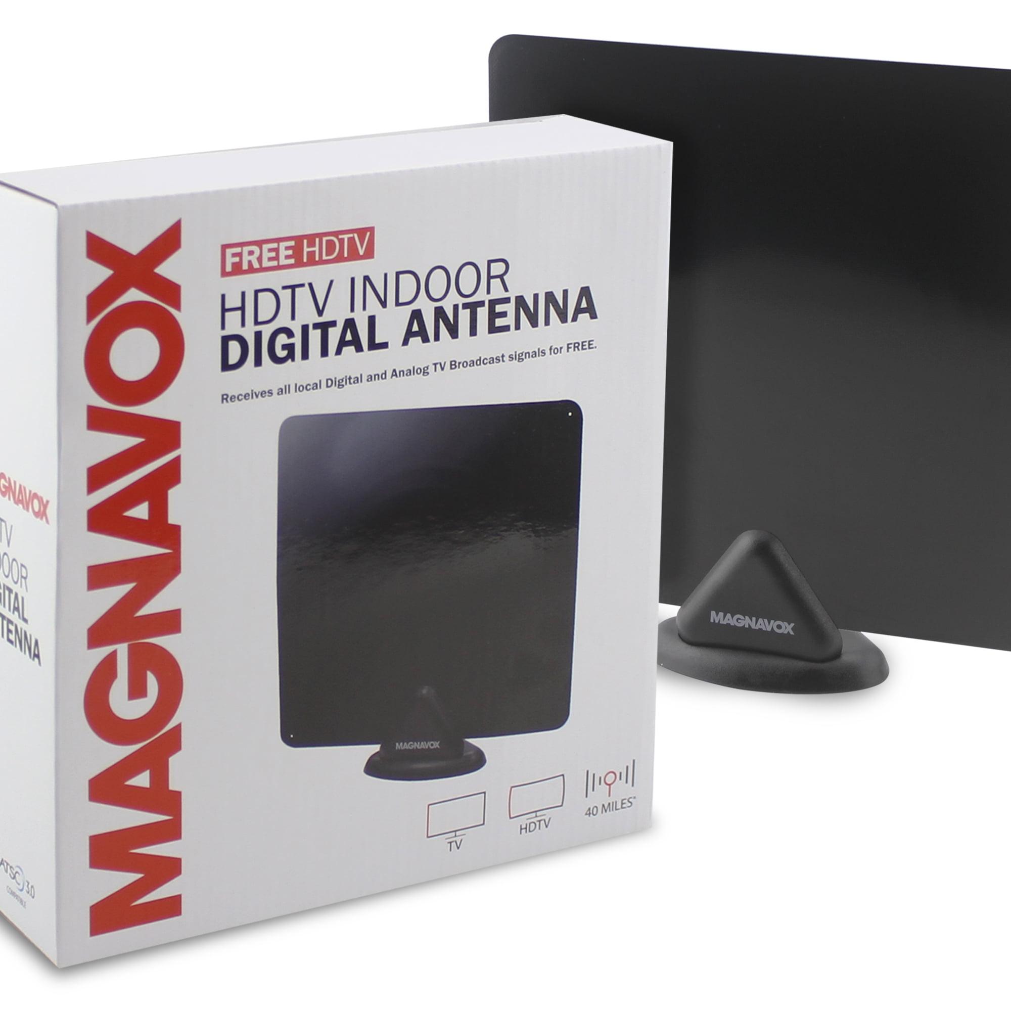 Magnavox Hdtv Indoor Digital Flat Antenna Mc323 Walmartcom