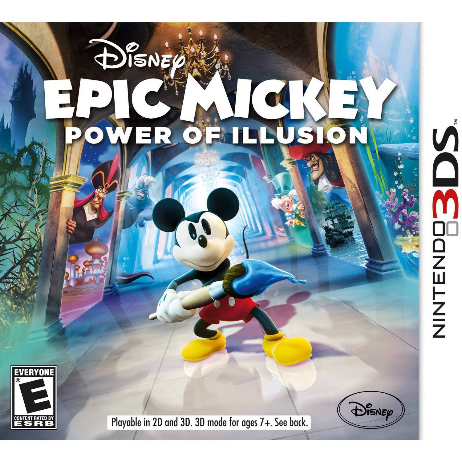 Cokem International Preown 3ds Disney Epic Mickey:power Illu