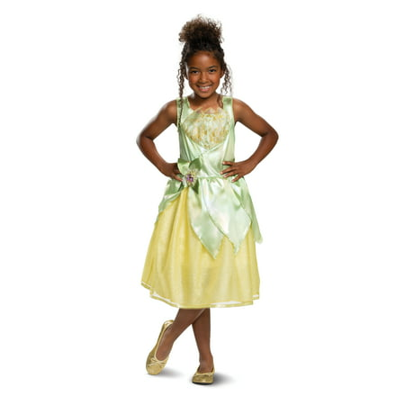 Tiana Classic Costume Green](Princess Tiana Costume For Kids)