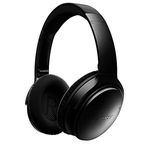 Bose QuietComfort 35 Wireless Headphones, Noise Cancelling Black by Bose
