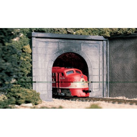 Woodland Scenics Ho Tunnel Portal (C1266 O Tunnel Portal Concrete, For use with your o scale layout. By Woodland)