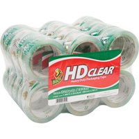 Duck HD Clear? 1.88 In. x 54.6 Yd. Packing Tape, Clear, 24-Count