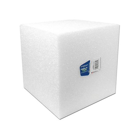 Floracraft Styrofoam Cube Bulk 8x8x8