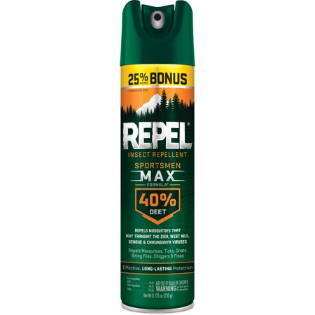 Repel Insect Repellent Sportsmen Max Formula 40% DEET, 8.125-oz