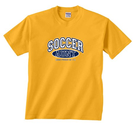 Soccer Aunt and Proud of It T-Shirt