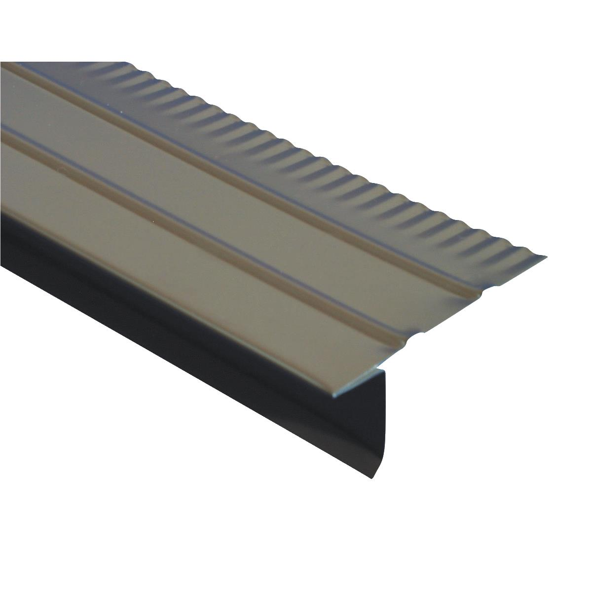 Amerimax Aluminum F Style Overhanging Roof & Drip Edge Flashing 5505419120