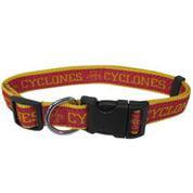 Iowa State University Nylon Adjustable Dog Collar