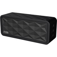 Sylvania SP262-BLACK Portable Bluetooth Rugged Garage Speaker - Black / Stealth Gray